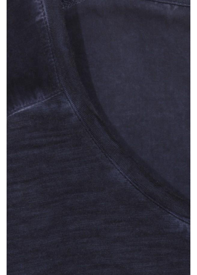 """Monochromes Shirt mit Brusttasche """"Modern Classics"""" /"""