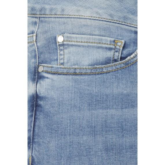 Slim Fit-Jeans im Used-Look /