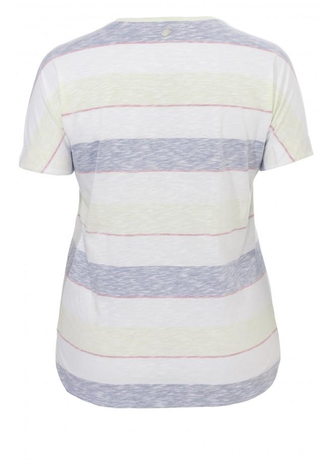 Sommerliches T-Shirt mit Muster und Motiv /