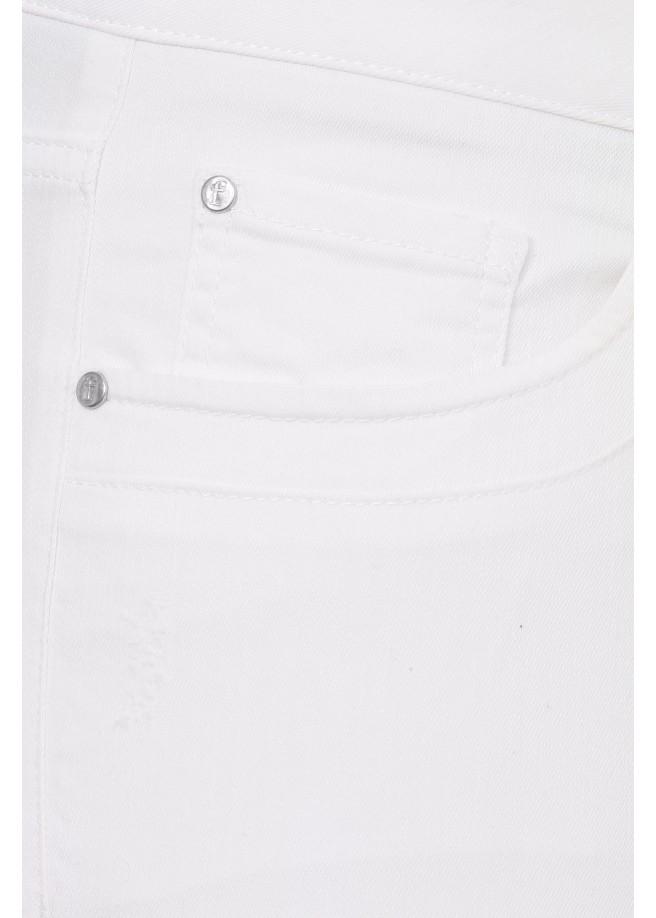 Sommerliche 7/8-Jeans /