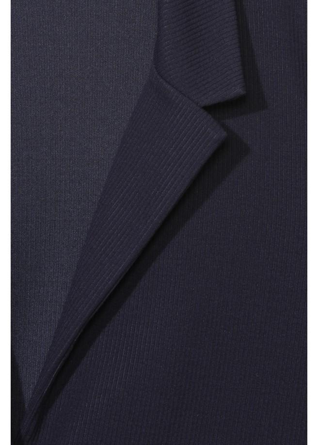 Bequeme Blazer-Jacke mit Muster /