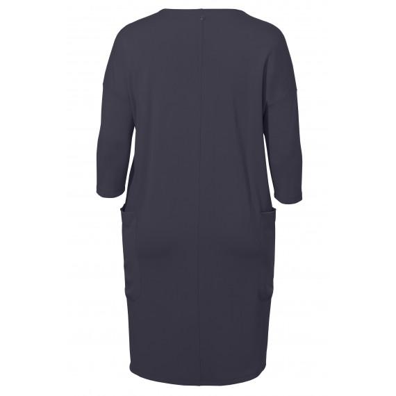 Lässiges Kleid mit schimmernden Taschen /