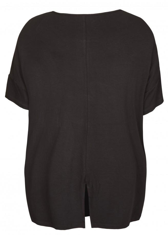 Modisches Blusen-Shirt mit Print /
