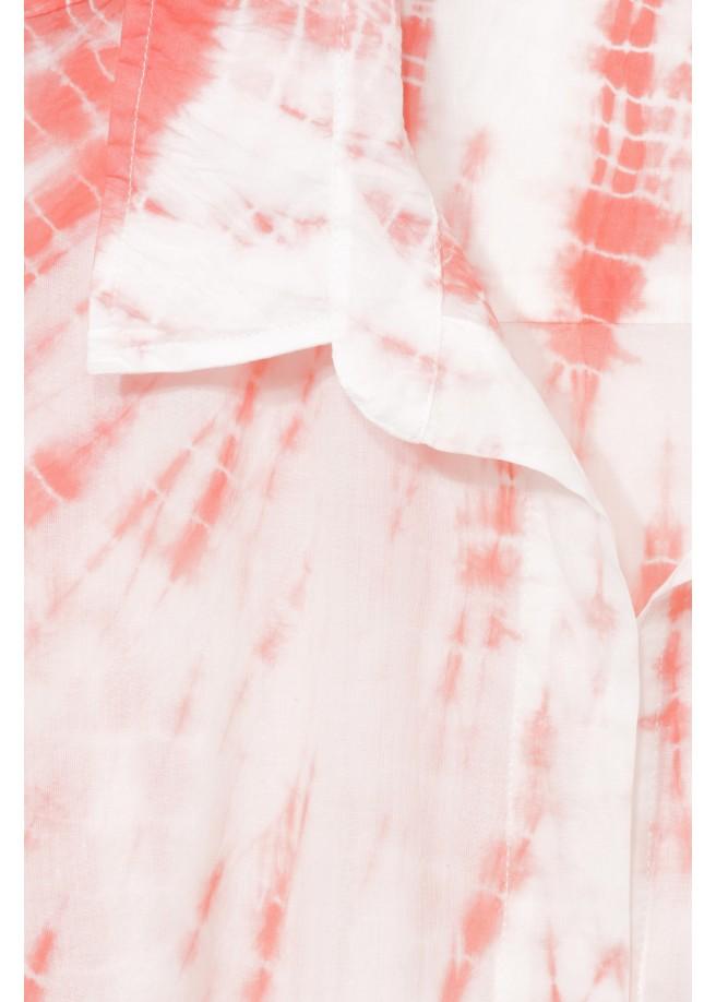 """Extralange Sommer-Bluse in A-Form """"Happy Batik"""" /"""