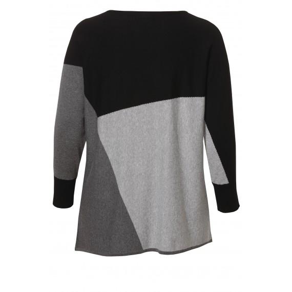 Stylischer Pullover mit Grafik-Design /
