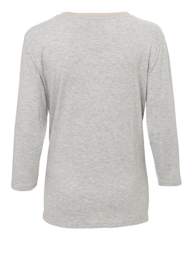 Modisches Shirt mit Glitzereffekt /