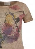 Luftiges T-Shirt mit Motiv /