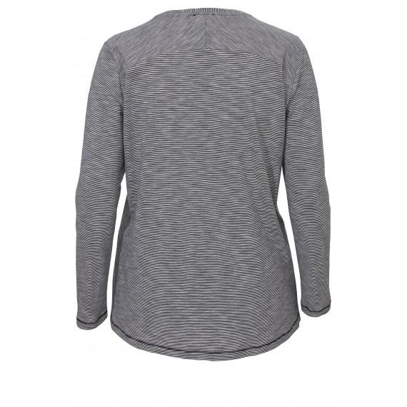 Ringel-Shirt mit Pailletten und Glitter /