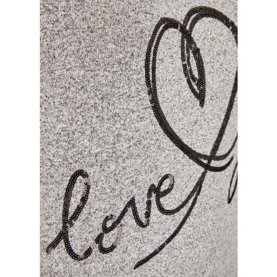 "Verspielter Pullover ""love you"" /"
