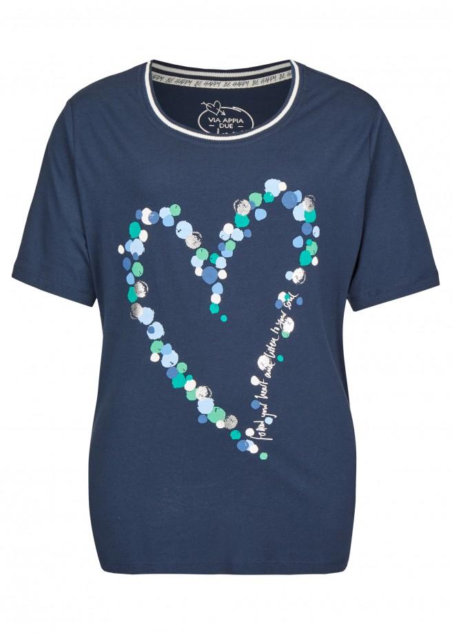 Süßes Shirt mit Front-Motiv /