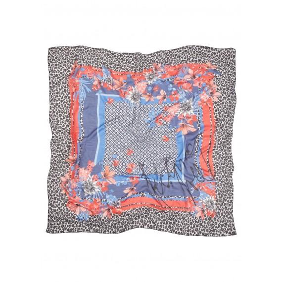 Romantisches Tuch mit aufwendigem Print /