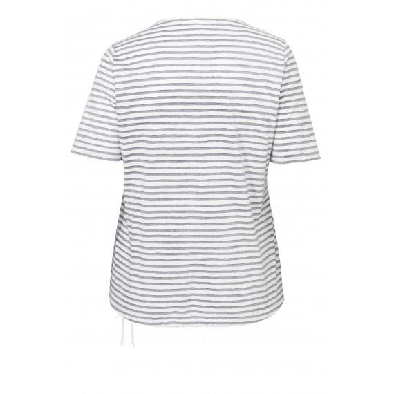 Maritimes Shirt mit Schrift /