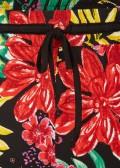 Sommerliche Hose mit floralem Print /