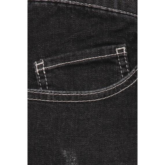 Feminine Jeans mit Perlen /