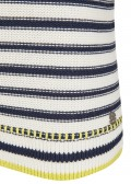 Femininer Pullover mit Kontrast-Details /