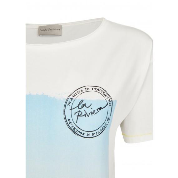 Sommerliches Shirt mit Print-Motiv /