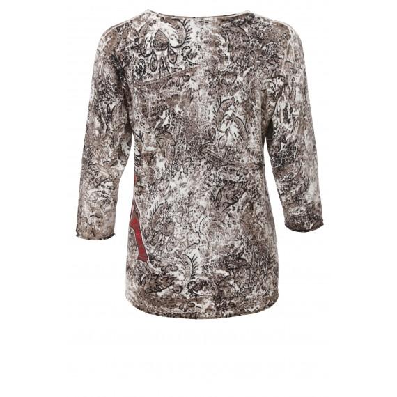 Süßer Pullover im Ethno-Stil /