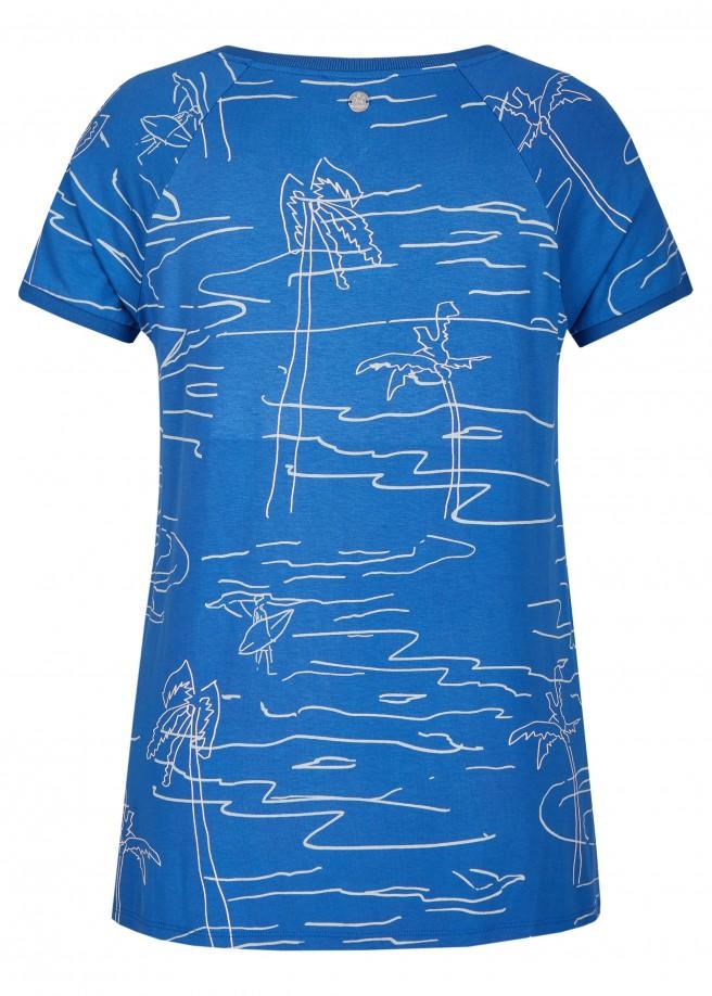 Sommerliches T-Shirt mit Print /