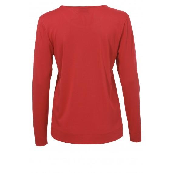 Basic Shirt mit Rundhals-Ausschnitt /