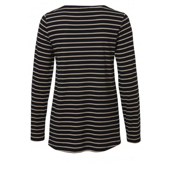 Süßes Shirt mit Ringel-Muster /