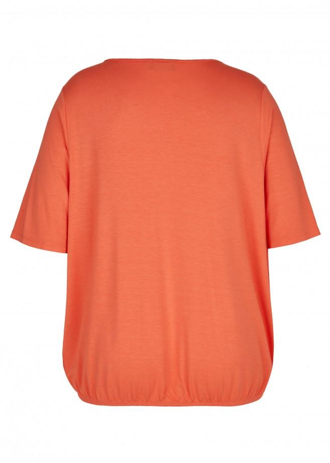Elegantes Blusenshirt mit Schmuckelement /