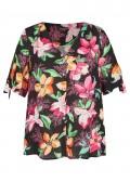 Schicke Bluse mit Allover-Blumen-Print /