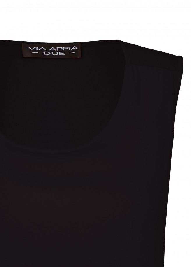 Elegantes Blusen-Top mit Layering-Front /