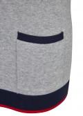 Femininer Pullover mit Kontrastdetails /