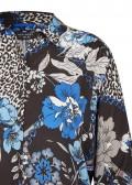 Zarte Bluse mit aufregendem Print /
