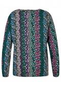 Fröhliche Bluse mit floralem Print /