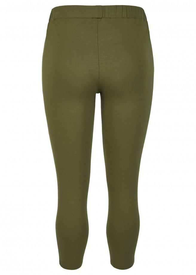 Unifarbene Leggings /