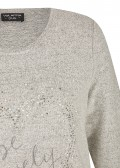 "Kombifreudiges Sweatshirt ""Be lovely"" /"