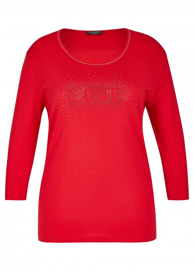 """Feminines Shirt """"Love"""" /"""