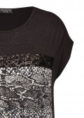 Trendiges Shirt mit Front-Design /