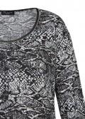 Modisches Shirt mit Schlangen-Print /