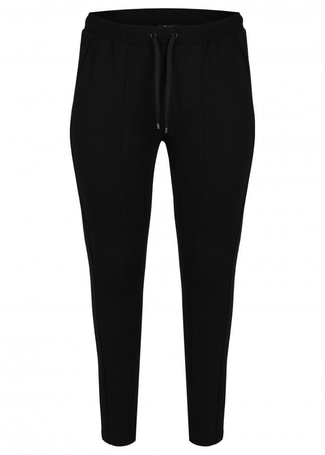 Sportive Hose in unifarbenem Design /