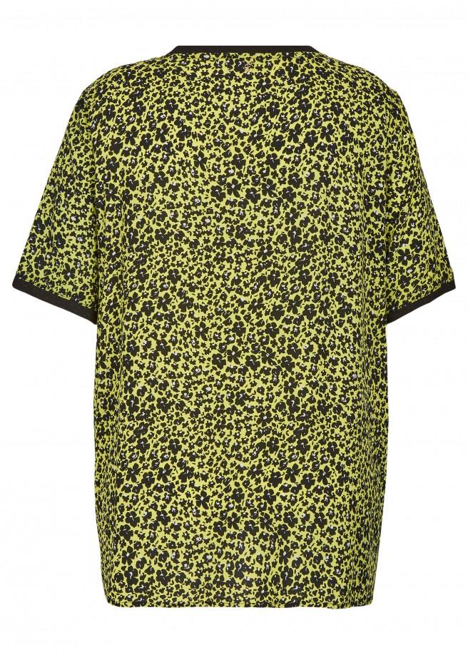 Feminine Bluse mit Allover-Blumen-Print /