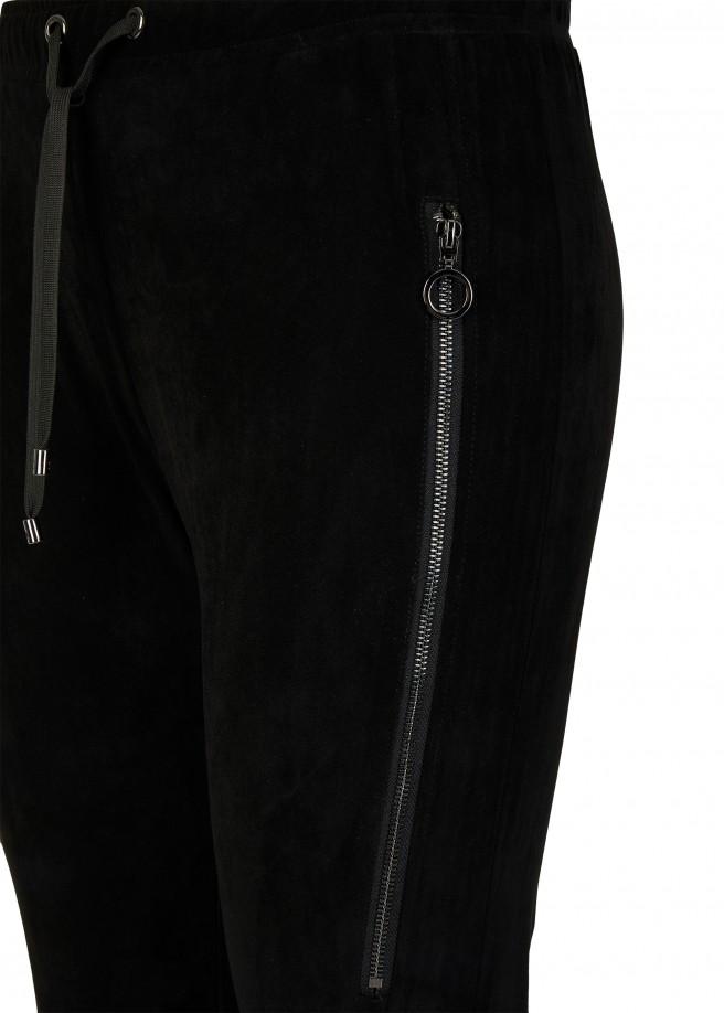 Power-Stretch Kombi-Schlupfhose mit seitlichen Zippern /