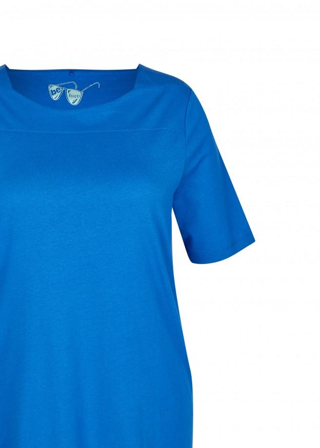 Schickes T-Shirt mit Glitzernähten /
