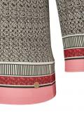 Trendiges 3/4-Arm-Shirt mit extravagantem Mustermix /